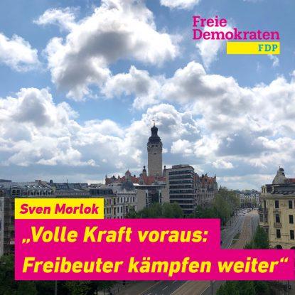 Fraktion Freibeuter kämpfen weiter im Leipziger Stadtratdtrat.
