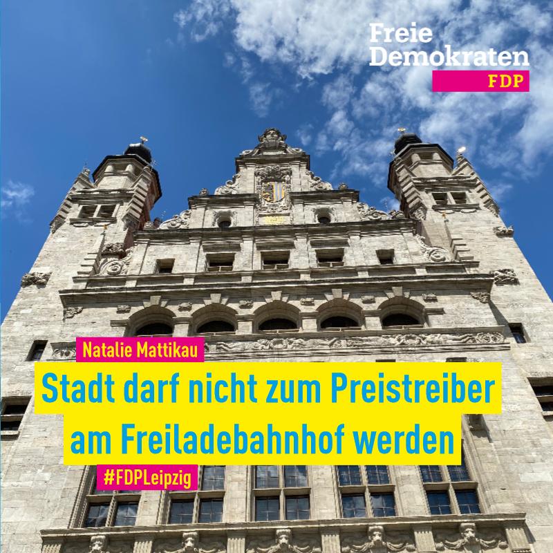 Natalie Mattikau (FDP): Stadt darf nicht zum Preistreiber am Freiladebahnhof werden