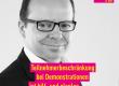 Hobusch (FDP): Teilnehmerbeschränkung bei Demonstrationen ist hilf- und planlos