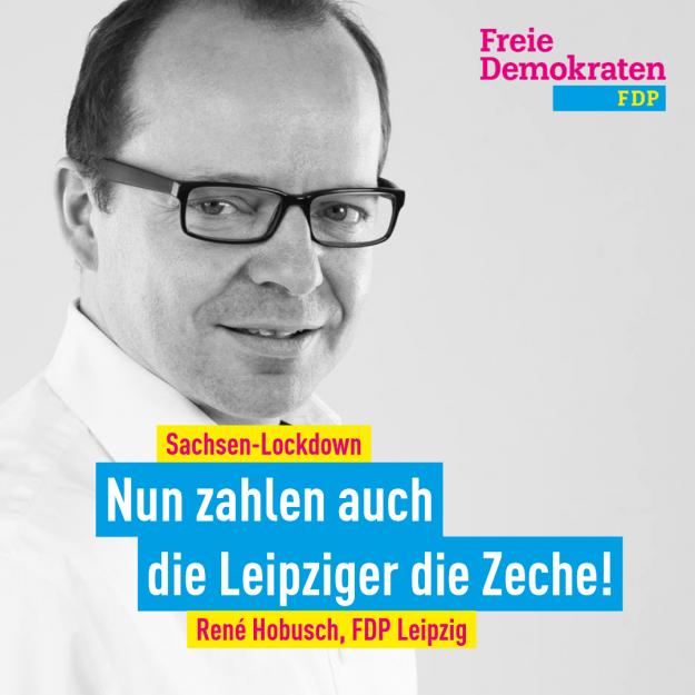 Hobusch (FDP): Nun zahlen auch die Leipziger die Zeche