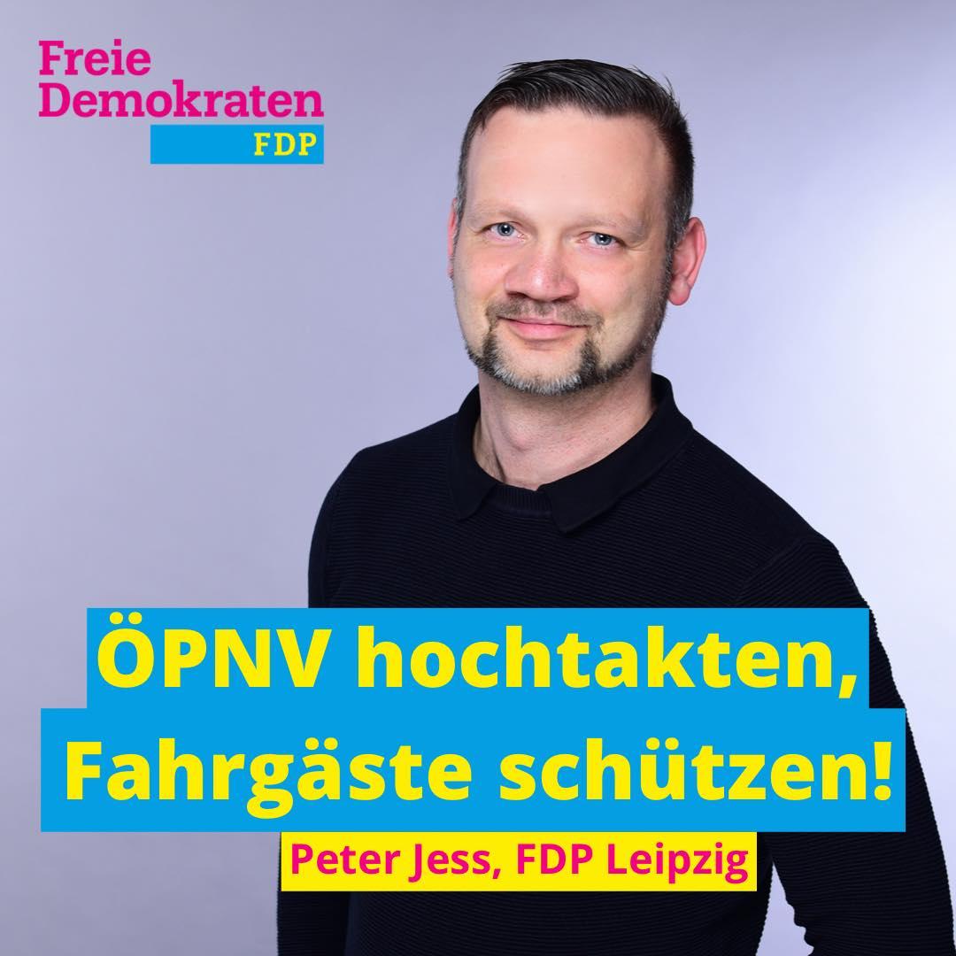 Jess (FDP): ÖPNV hochtakten, Fahrgäste schützen!
