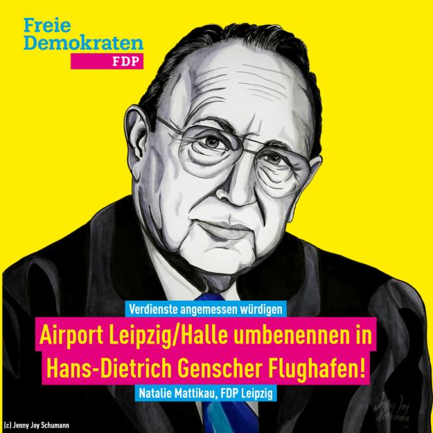 Mattikau (FDP): Wo bleibt der Hans-Dietrich-Genscher Flughafen?