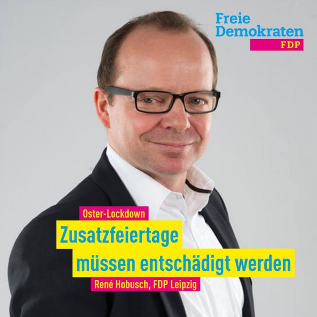 Hobusch (FDP): Zusatzfeiertage müssen entschädigt werden