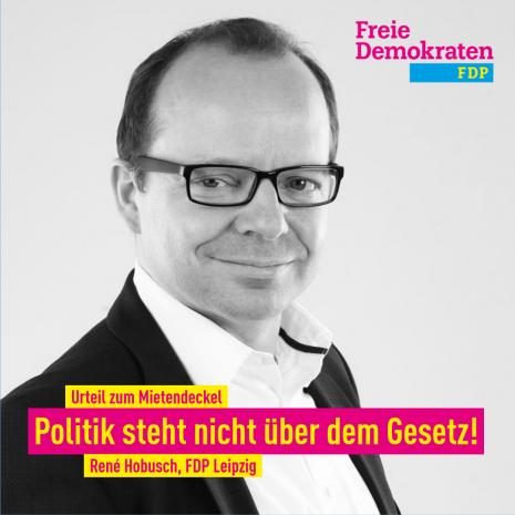 """Hobusch zum Mietendeckelurteil: """"Verfassungswidrig mit Ansage / Politik steht nicht über dem Gesetz"""""""