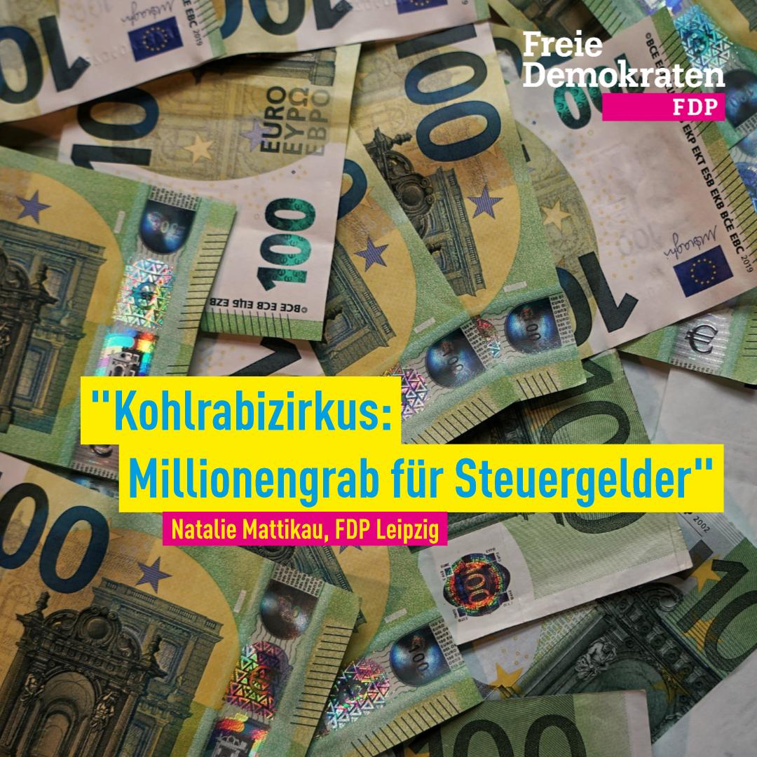 Mattikau (FDP): Kohlrabizirkus ist Millionengrab für Steuergelder